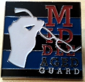 Middle Aged Guard Pin